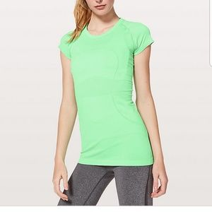 Lululemon Swiftly Tech Green Short Sleeve